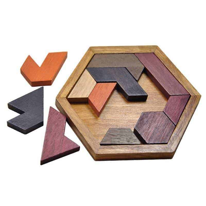 Educational Wooden Jigsaw Puzzle Toy